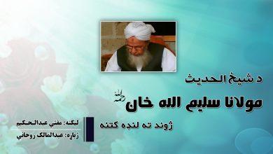 Photo of د شيخ الحدیث مولانا سلیم الله خان ژوند ته لنډه کتنه